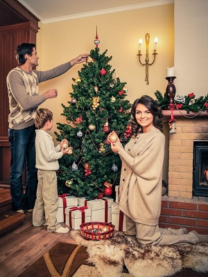 Подготовка к семейному празднику