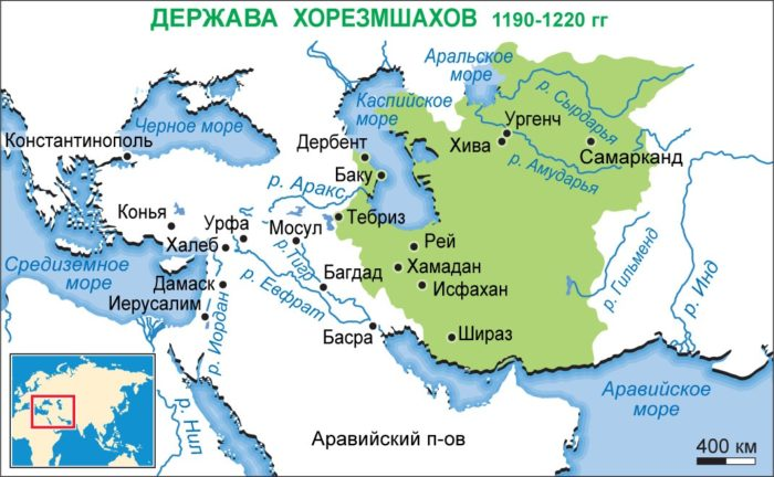 Держава Хорезмшахов