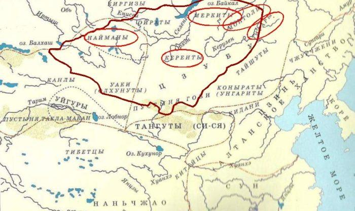 Качевые племена