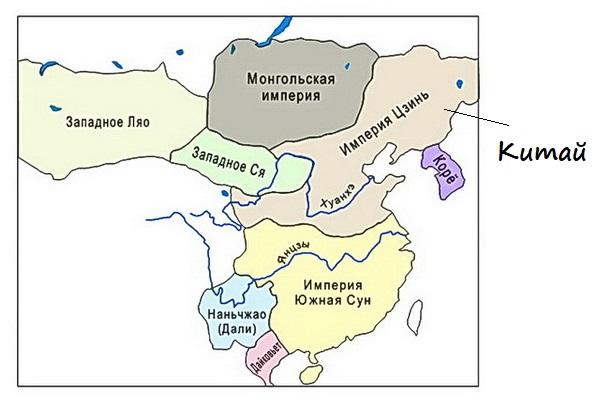 Китай в 13 веке